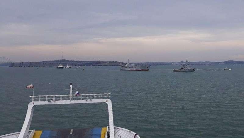 Азовское Море. Киев запутался в версиях «прорыва» кораблей в Азовское море