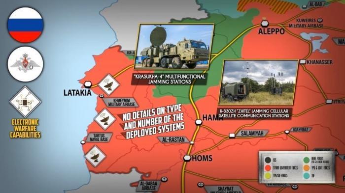 Сирия. Россия развёртывает комплексы РЭБ и ЗРК С-300