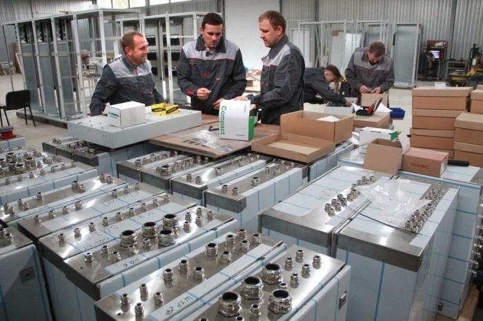 ВБелгородской области открыли завод электротехнических изделий