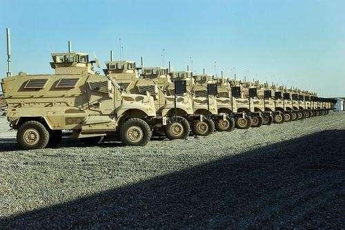 США продают 4500 бронеавтомобилей MRAP ОАЕ, а не Украине