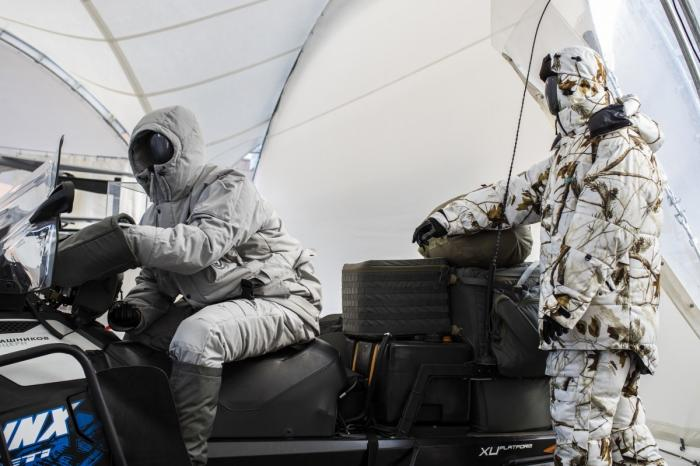 Концерн «Калашников» разработал экипировку для арктических спецподразделений