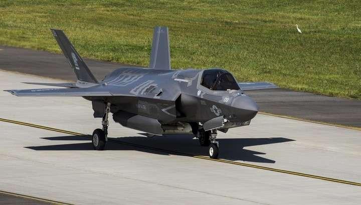 F-35 разбился в США сразу после первого боевого применения истребителя в Афганистане