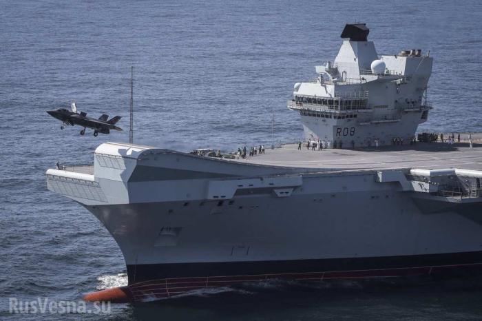 Англия сообщила о «величайшем моменте» в военно-морской истории страны