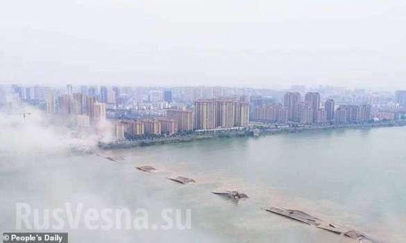 В Китае взорвали мост длиной 1,5 км   Русская весна