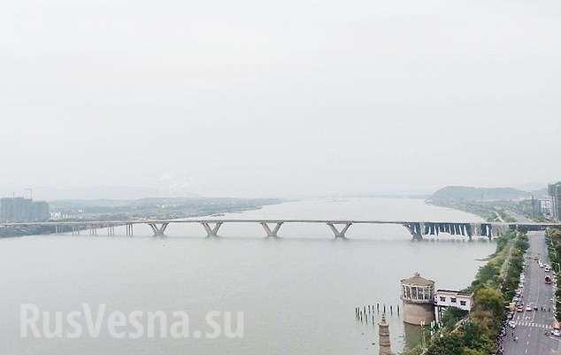 В Китае взорвали мост длиной 1,5 км