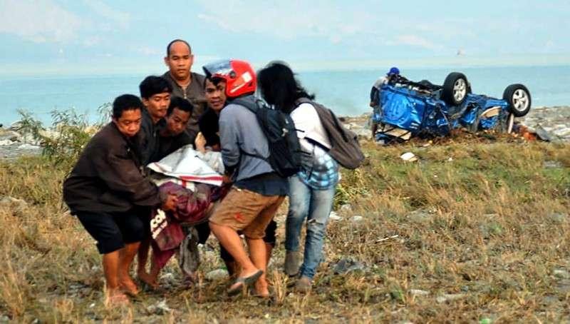 Индонезия. Число жертв землетрясения и цунами превысило 380 человек