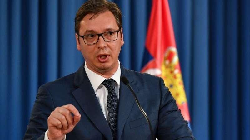 Сербия на грани войны, Александр Вучич привел армию в полную боевую готовность