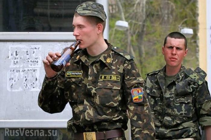 Сводка о военной ситуации в ДНР: каратели спешно оборудуют карцеры для своих алкоголиков