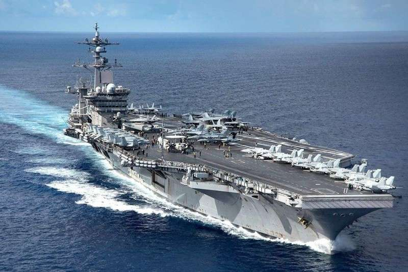 Авианосный флот США может воевать только с отсталыми странами