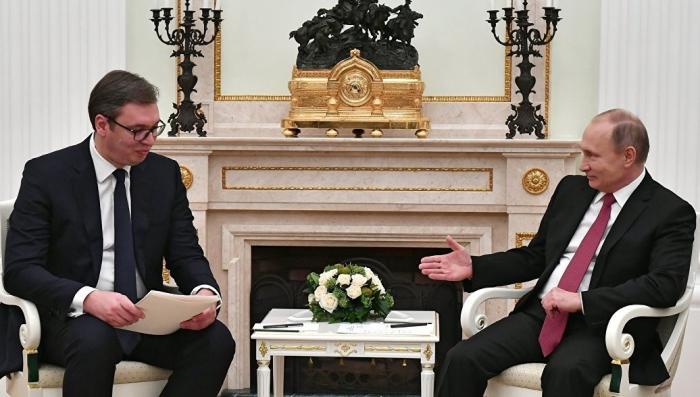 Конфликт в Косово. Сербия попросит защиты у Владимира Путина