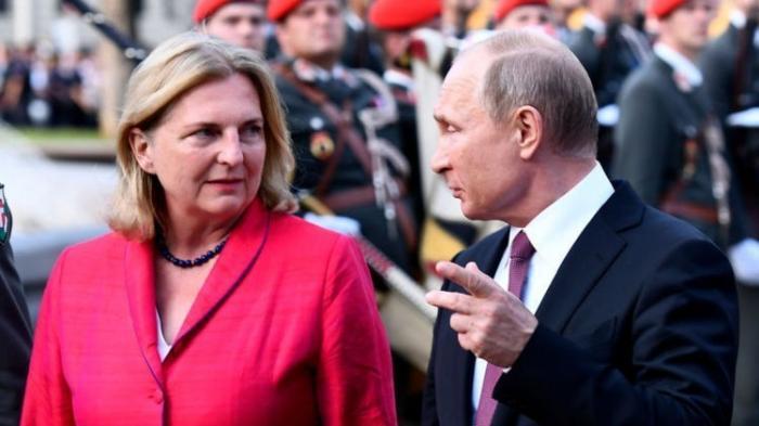 Один визит Владимира Путина в Австрию изменил систему международных отношений