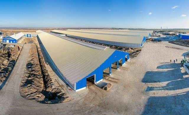 ВПензенской области официально открыт крупнейший вРоссии молочно-товарный комплекс