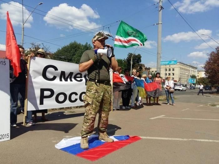 Донбасс – бумеранг для неонацистов за Чечню