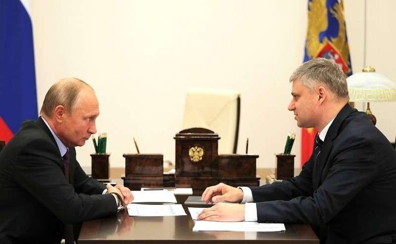 Встреча сгенеральным директором– председателем правления ОАО «Российские железные дороги» Олегом Белозёровым.