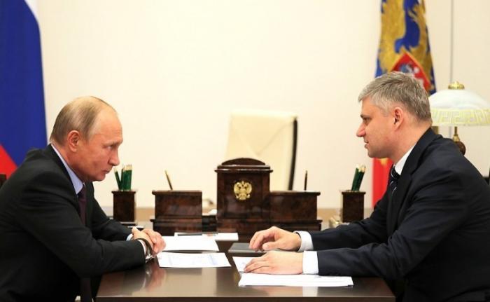 Владимир Путин встретился с главой правления ОАО «Российские железные дороги»