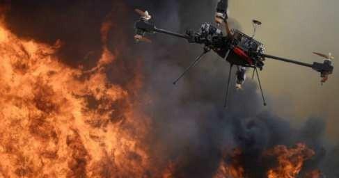 В ЛНР сбили ударный беспилотник карателей производства США