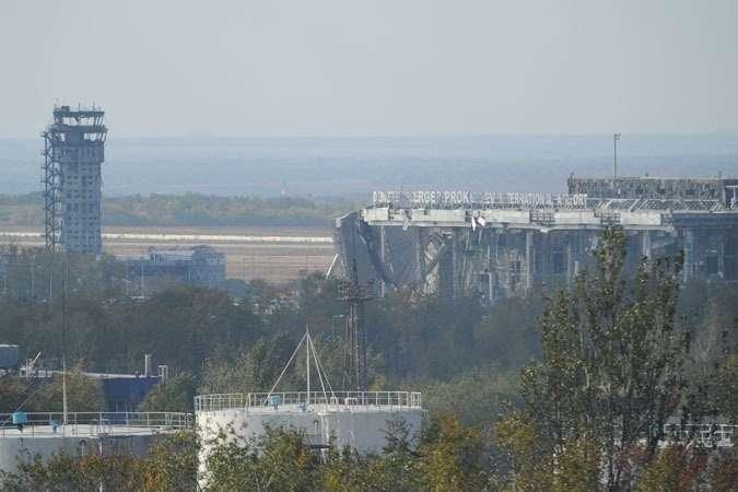 Активная фаза по освобождению аэропорта Донецка завершена