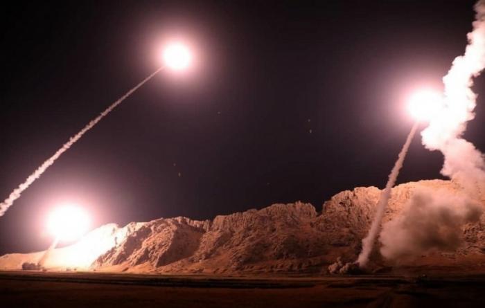 Масштабный ракетный удар Ирана по американским наёмникам поверг в ужас США и Израиль