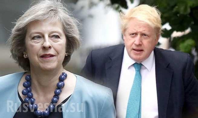 Борис Джонсон «напал» на Терезу Мэй. Битва за премьерство набирает обороты