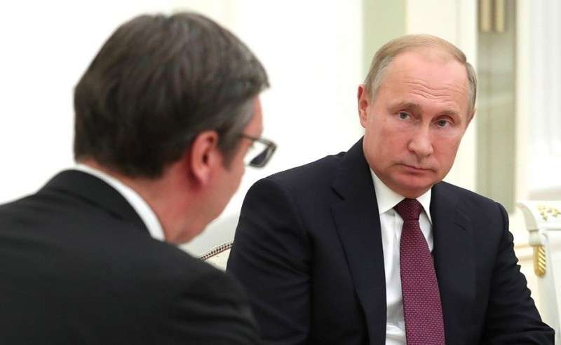 Навстрече сПрезидентом Республики Сербия Александром Вучичем.