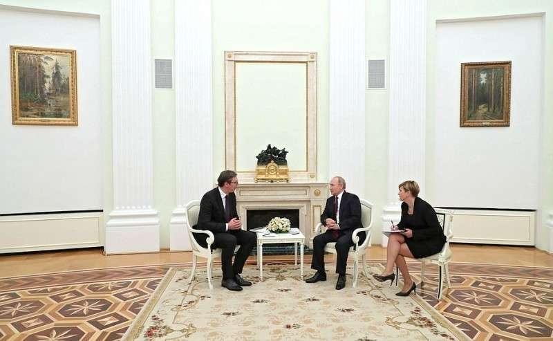 Встреча сПрезидентом Республики Сербия Александром Вучичем.