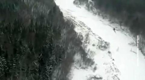 Якутия. Пилот пять дней выживал в ущелье