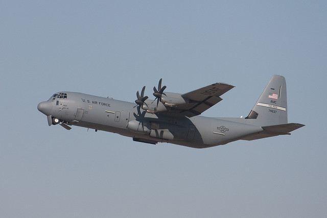 В Афганистане сбит самолёт США С-130 «Супер Геркулес»