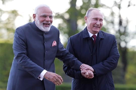 Визит Владимира Путина в Индию напомнит всем о новой геополитической реальности