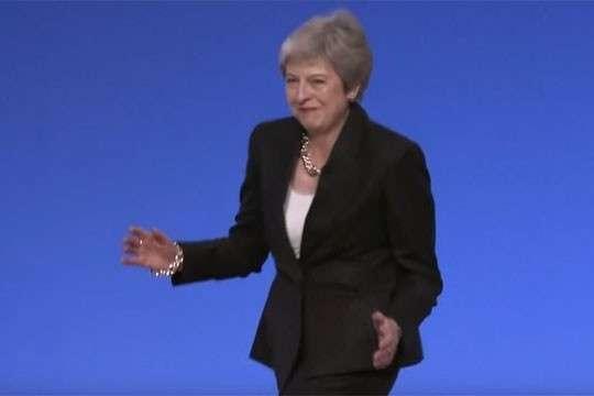 Мэй станцевала от безысходности свой политики
