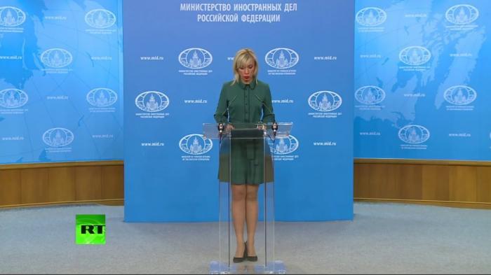 Еженедельный брифинг Марии Захаровой – LIVE