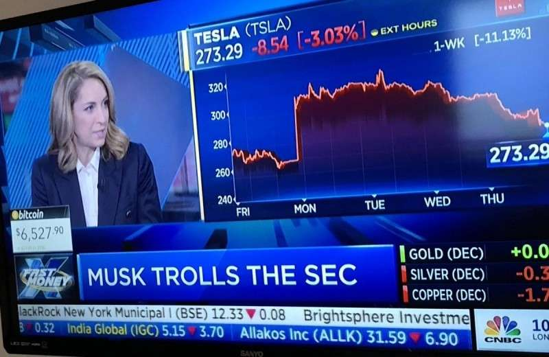 Судья троллит Маска. Маск троллит SEC. Всем весело, кроме теслохомячья…