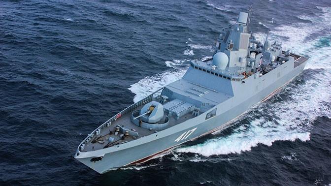 Фрегат «Адмирал Горшков» опробовал вделе новейший ЗРК «Полимент-Редут»