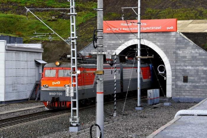 В Кемеровской области запущен в постоянную эксплуатацию новый железнодорожный тоннель