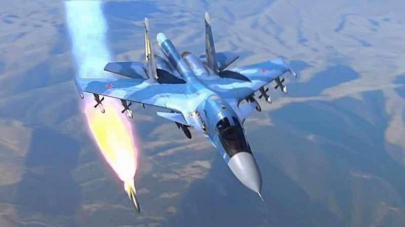 ВКС РФ возобновили мощные удары по американским наёмникам в Сирии