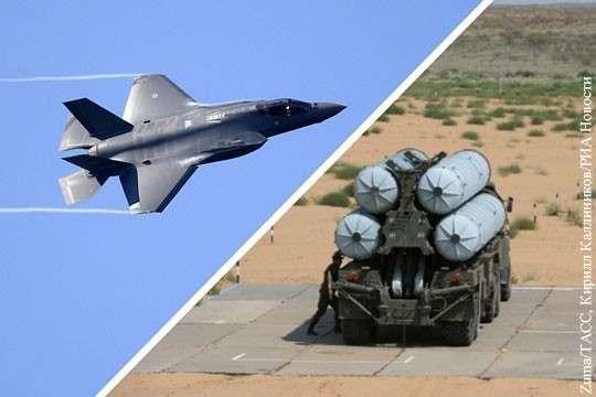 Что может С-300 Триумф в дуэли с истребителем F-35 Молния