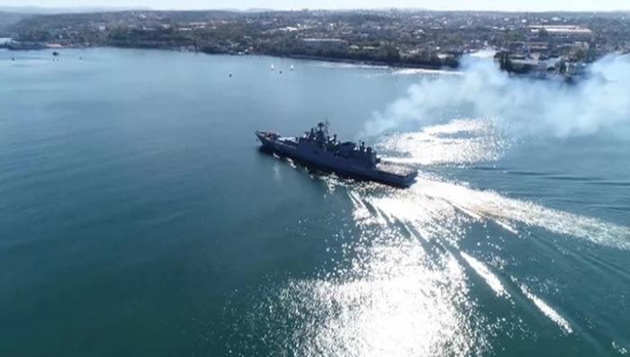 Черноморский флот России усилился новым фрегатом «Адмирал Макаров»