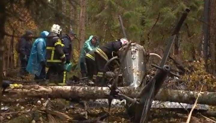 Вертолёт с заместителем генпрокурора РФ упал после убийства пилота