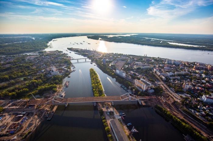 ВСамаре завершилась продольная надвижка Фрунзенского моста через реку Самара