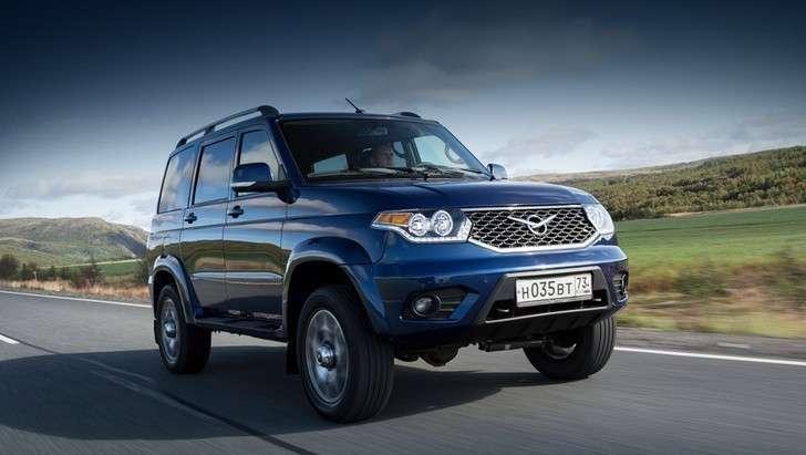 Обновленный УАЗ «Патриот» поступил в продажу на российский рынок