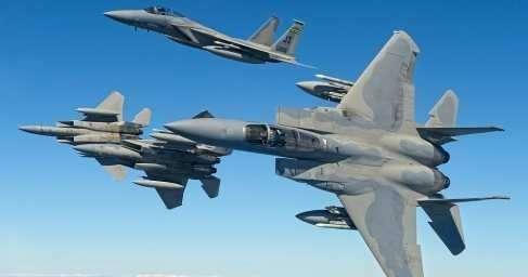 США перебросили на Украину истребители F-15 и военно-транспортные самолёты C-130