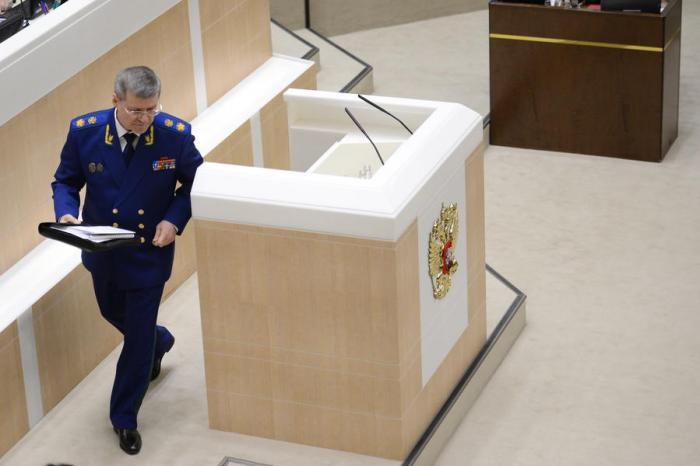Генпрокурор РФ Чайка сообщил о многомиллиардных хищениях в сфере военно-научных разработок