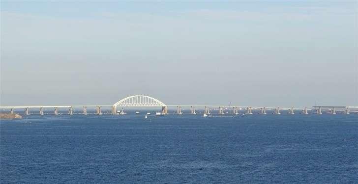 Железнодорожная часть Крымского моста. Ход строительства на октябрь 2018 года