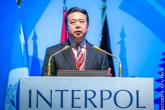 Чем глава Интерпола насолил властям Китая