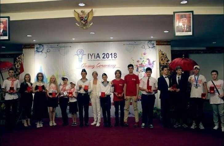 Российские школьники завоевали 12 золотых медалей наМеждународной выставке юных изобретателей