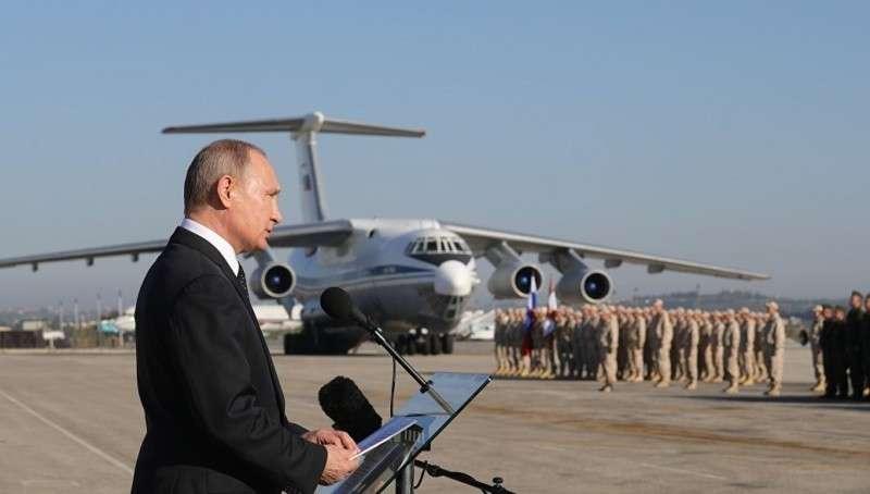 Владимир Путин открывает новый фронт против Запада