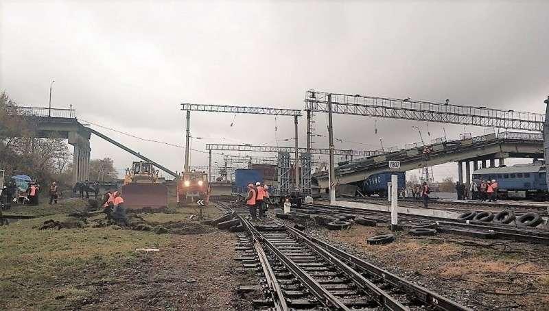 Движение по Транссибу, остановленное после обрушения моста, восстановлено