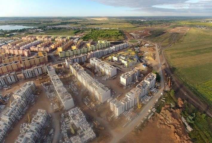 Фотохроника: Строительство «Южного города» в Самаре