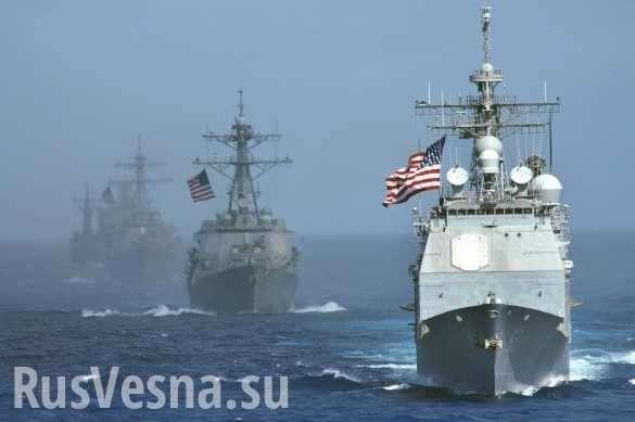 США рискуют не успеть на войну с Россией – кораблей не хватает | Русская весна