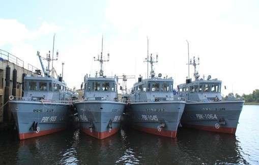 «Завод Нижегородский Теплоход» спустил на воду шесть рейдовых катеров проекта 23040 в  этом сезоне