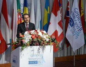 Пресс-конференция Сергея Нарышкина на сессии Парламентской ассамблеи ОБСЕ